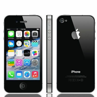 APPLE IPHONE 4S 16GB  Black UNLOCKED SMART PHONE  (New and Boxed )