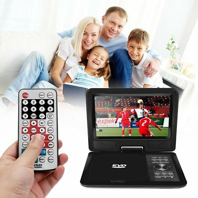 """11"""" 720P LCD HD DVD VCD 270 Degree Swivel Screen Portable TV Game Player Newest"""