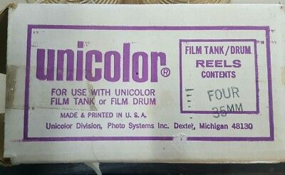 Unicolor film deveolping reels