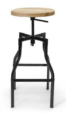 Adjustable Swivel Stool in Black [ID 3292850]