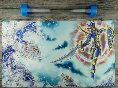 Trishula, Dragon of the Ice Barrier & Black Luster Soldier YuGiOh Playmat TCGMat