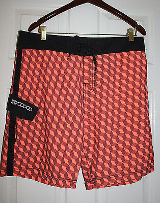 52fcc37ac0ece Body Glove Voodoo Mens Swim Surf, Board Shorts, Trunks Repells Water Size 34