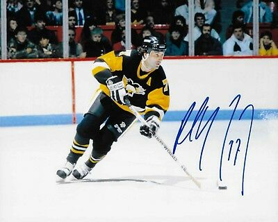 Paul Coffey signed Pittsburgh Penguins 8X10 Photo *HOF*