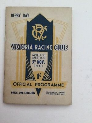 1951 Race Book Derby Day