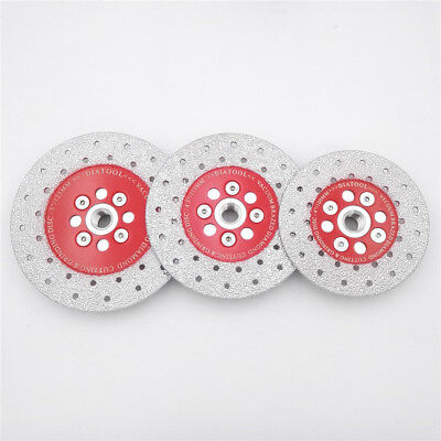 Vacuum Brazed Diamond Cutting Grinding Disc wheel M14 Thread 100 115 125MM