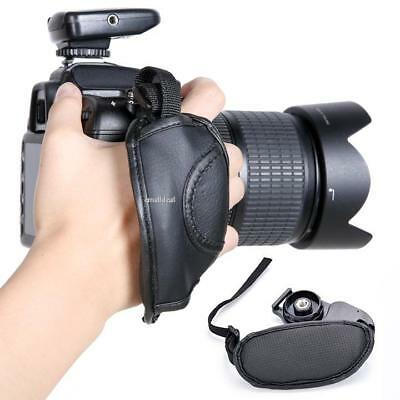 Camera Hand Grip SLR/DSLR Leather Wrist Strap For Nikon Canon EOS Sony Olympus
