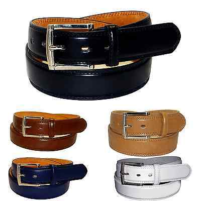 Big Men Casual/dress Leather Belt Black 5 Colors /46/48/50/52/54/56/58/60/62/64