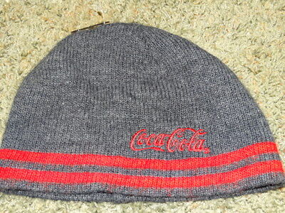 COCA-COLA HAT/ beanie  STYLE GRAY RED UNIQUE STYLE LOW PRICE