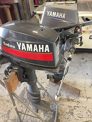 Yamaha Enduro Long Shaft 8 Hp