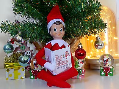 The Elf on the Shelf A Christmas Tradition miniature (elf sized) Book