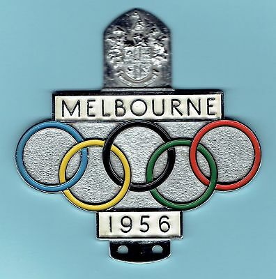Melbourne 1956 Olympic Games Car Badge