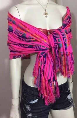 Mexican Rebozo/ Hand Made Wrap