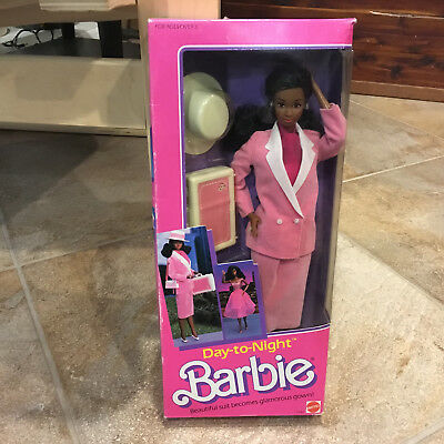Barbie Doll Vintage Day to Night  Barbie African American 1984 No.7945