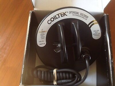 "COILTEK 6"" TREASURESEEKER COIL, Suits Minelab Explorer,Etrac,Quattro, Safari,"