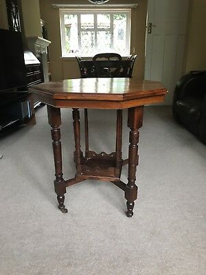 Antique Mahogany Occasional Octagonal Table