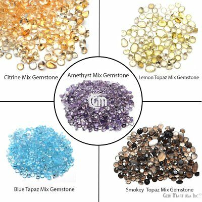 Choose Your 100 Carats Mixed Loose Gemstones Natural Loose Faceted Wholesale Lot