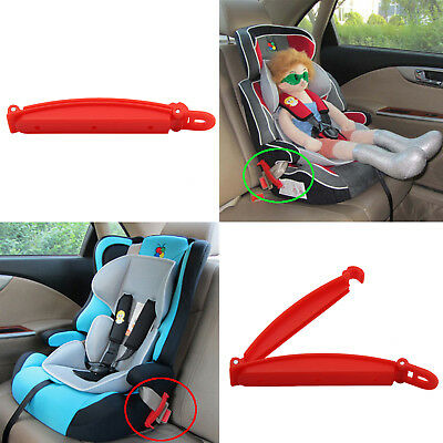 Baby Child Toddler Safety Gear Car Seat Belt Clip Belt Locking Clip Fixed Skid