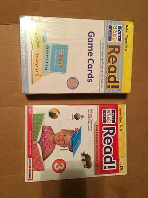 Your Baby Can Read 82 Word Cards & 50 Game Card, Early Language Development Syst