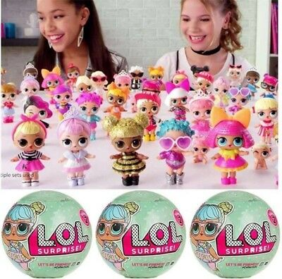 LOL Surprise L.O.L Doll Series 2 -7 Layers of Fun1 Dolls Blind Mystery Ball XMAS