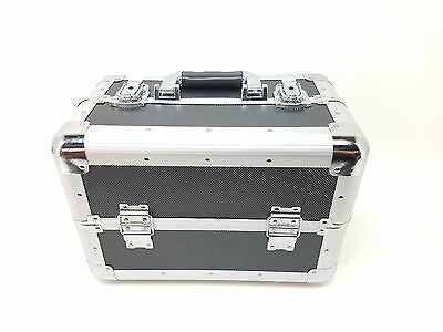 Beauty Case XXL Large for Luggage 36,5 x 22 25 cm Aluminium, Black jbc228 (K-1)