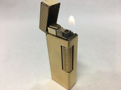 Dunhill Cigarette Gas Gold Lighter Very good condition 1013008