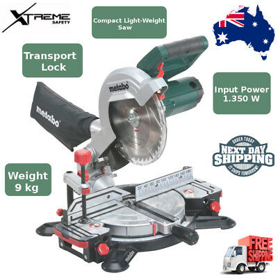 Metabo 1350 Watt 216mm Compound Mitre Saw With Laser