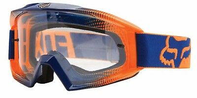 FOX MOTOCROSS GOGGLES KTM ORANGE/BLUE NEW! Motorcross Dirt bike MX Off road