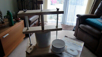 Cheese Press Spring Assisted And A Poundage Guage