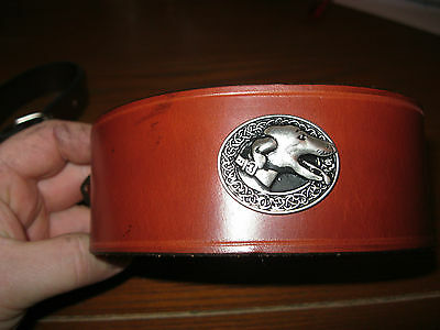 Greyhound / saluki/Lurcher/Whippet Collar lamping coursing racing