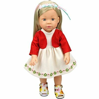 Shero 10 - 14 Inches Baby Doll's Dress One-Piece Red