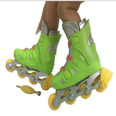 Mini Finger Roller Roller Skating Shoes Toys Blade Micro Rollerblade Toy Skating