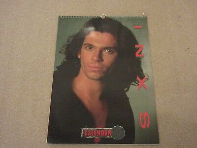 INXS 1990 Calendar- Complete and clean,  very good condition