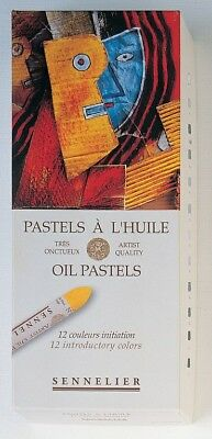 Sennelier Artist's Oil Pastels Set of 12 Introductory Assorted Colours