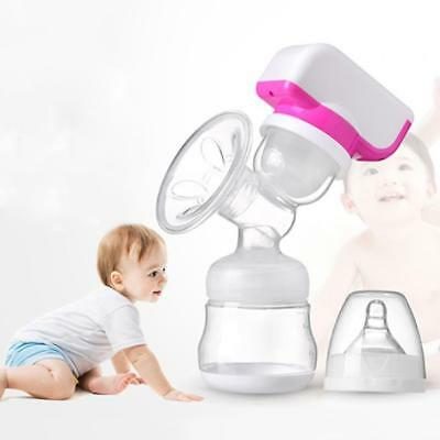 BPA Free Comfort Electric Feeding Breast Pumps for Baby with Milk Bottle USB