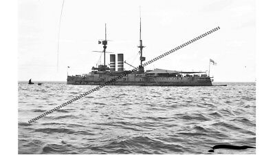 Photographic Glass Negative Grand Fleet Firth Of Forth Royal Navy Ww1  Warship
