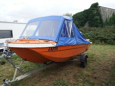 16ft fishing boat tri hull very stable, electric start 25hp reliable evinrude
