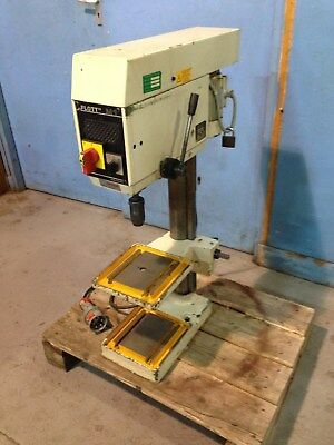 Flott Pillar Drill RHOM Supra Chuck Bench Top
