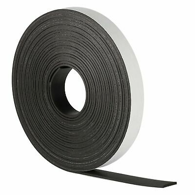 MAGNETIC TAPE/STRIP FOR FRIDGE/CRAFT/PHOTO STICKY BACKED 12.7mm - STRONG MAGNET