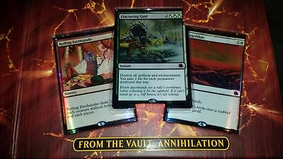 from the vault annihilation box all cards mint stayed in box (no dice)