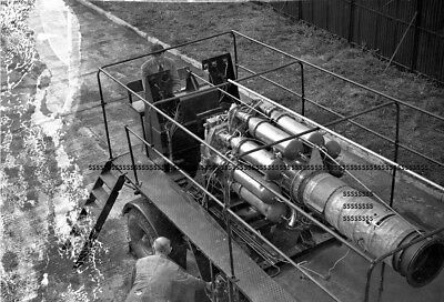 Photographic Celluloid Negative Testing Gas Turbine Engines Leicester Sept 1947