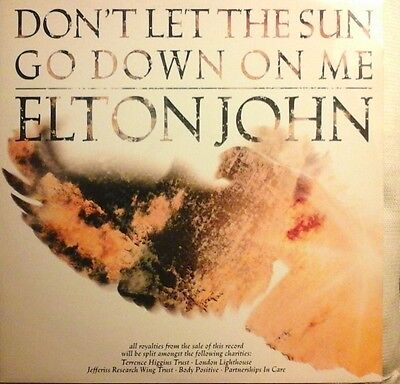 "Elton John-Don't Let The Sun.../song For Guy/sorry Seems To Be...12"" Vinyl Ex/ex"