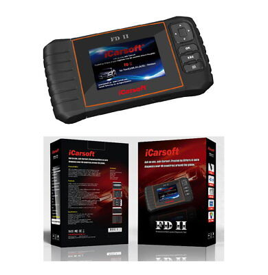 iCarsoft FDII OBD Tiefendiagnose passt bei Ford Transit Connect , ABS,Airbag….