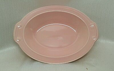 Vintage Luray Pink Oval Vegetable Serving Dish