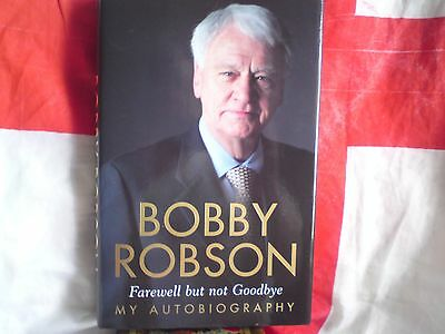 Signed Copy Bobby Robson Autobiography.free-Post,