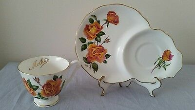 "Queen Anne ""Mother"" Tennis Set - Sutter's Gold Roses"
