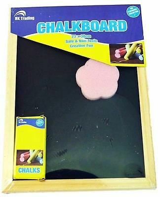 Blackboard Chalkboard Menu Home School Office Kitchen With Chalk & Eraser
