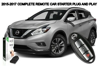 2015 2016 2017 Nissan Murano Remote Start Car Starter Plug And Play