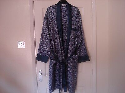 Mans new long paisley dressing gown XXL