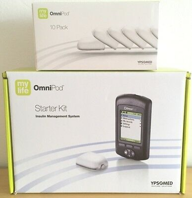 Omnipod My life Starter kit Insulin management System