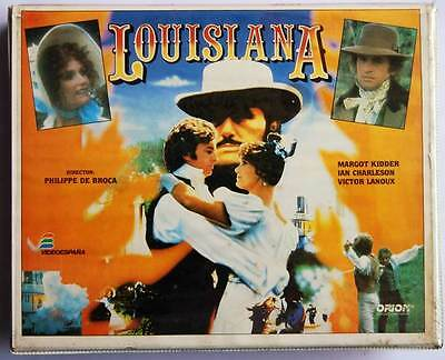 Louisiana. Película Beta Doble en estuche con Margot Kidder